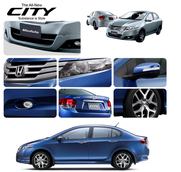 Today, December 18 2008 is the date the new Honda City 2009 is launched in
