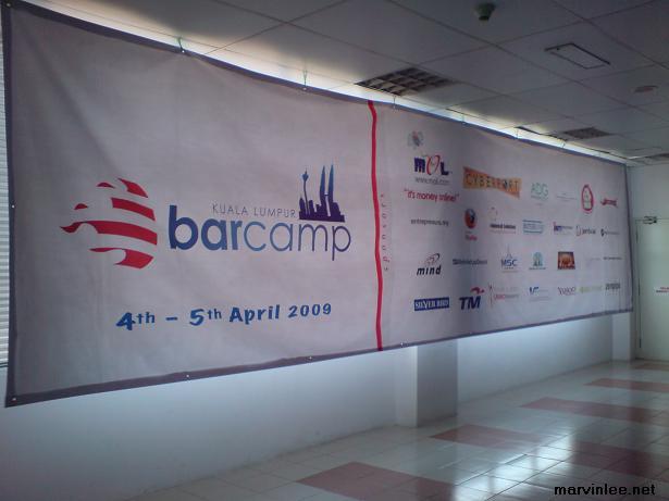 BarCamp KL Banner