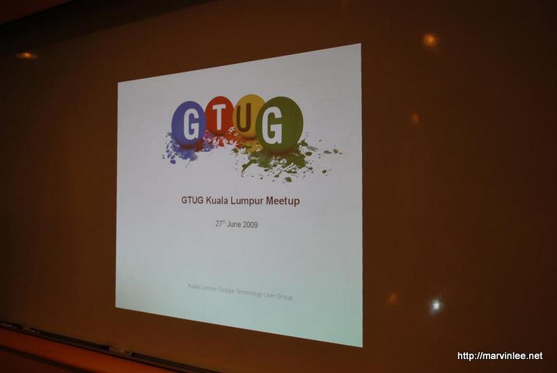 GTUG KL 1st Meetup